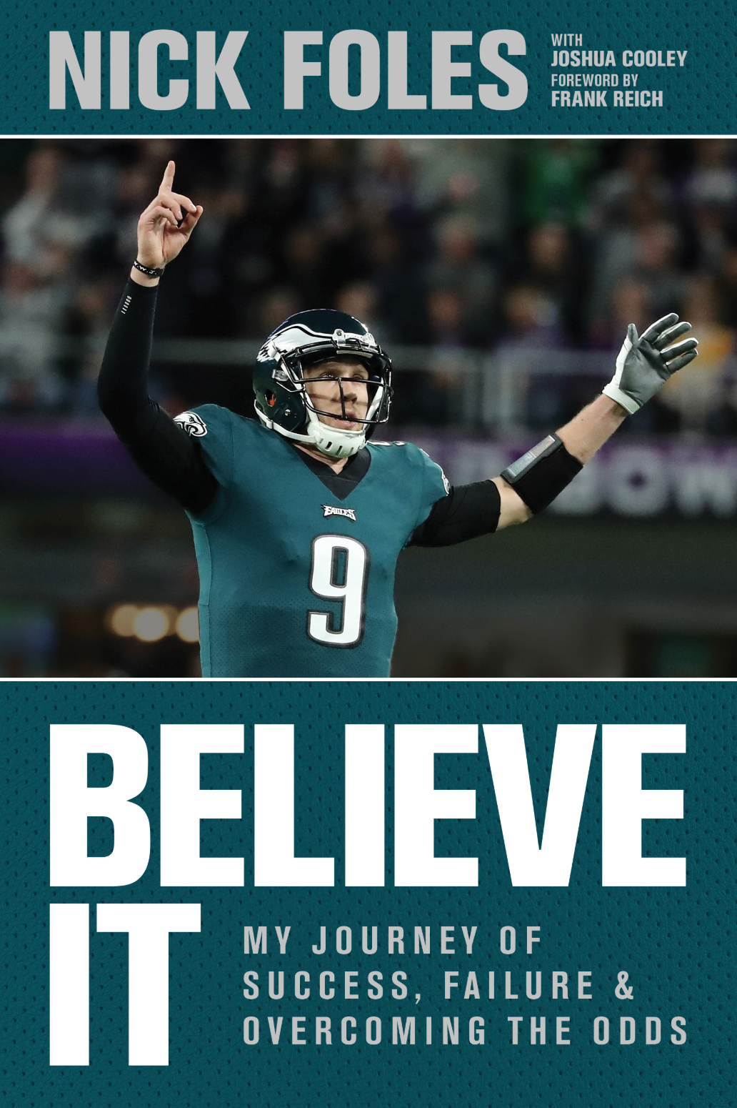 more photos 2f2d7 9f471 Super Bowl MVP Nick Foles Discusses POTS in His New Book ...